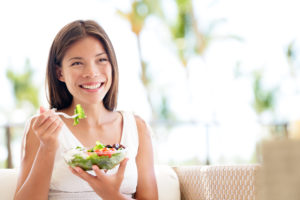 healthy woman preparing for her ivf cycle